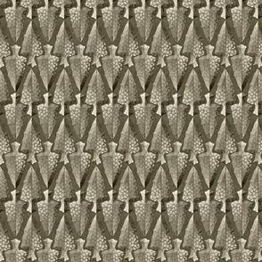 arrowheads gray