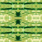 Green Shibori Stripes