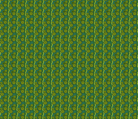 Green Grasshopper Ribbons fabric by olumna on Spoonflower - custom fabric