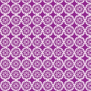 flori circles dark purple