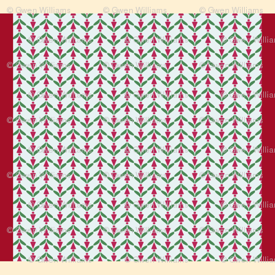 holiday napkin set 7