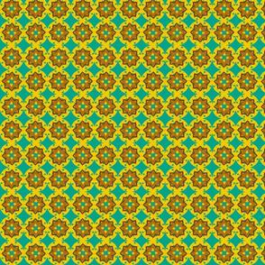 teal mustard minis