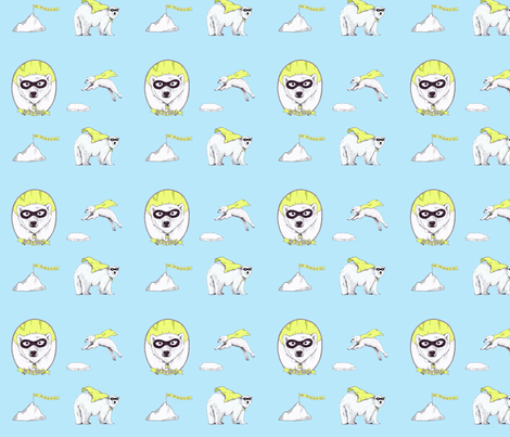 be_my_hero6 fabric by rutherbrad on Spoonflower - custom fabric