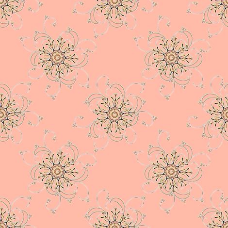 Pink Spritz fabric by joanmclemore on Spoonflower - custom fabric