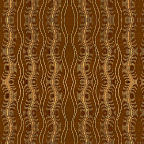 Earth Tides, peach and brown fabric by materialsgirl on Spoonflower - custom fabric