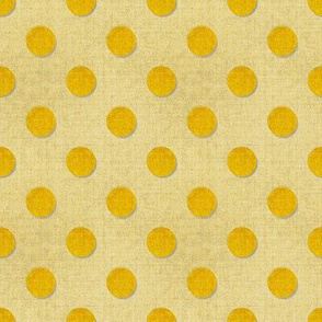 Gold Dots textured