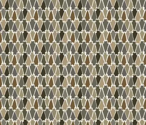 Arrow fabric by oceanpien on Spoonflower - custom fabric