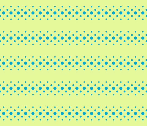 caribbean dot ribbon fabric by keweenawchris on Spoonflower - custom fabric