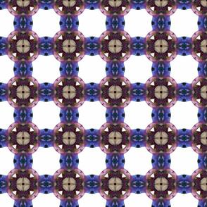 sweetpea faux quilt