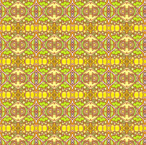 Golden Umbers fabric by edsel2084 on Spoonflower - custom fabric