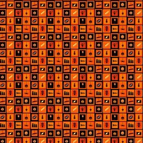 Carrés Halloween-Divers 1