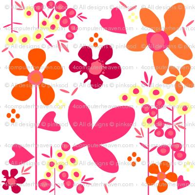 Fall'n For Pink! - Morning -  © PinkSodaPop 4ComputerHeaven.com