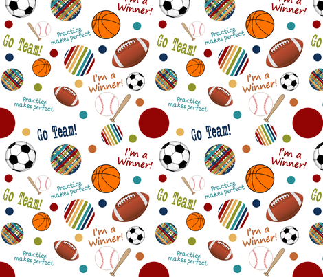 PlayBall_forBeMyHeroContest fabric by jpdesigns on Spoonflower - custom fabric