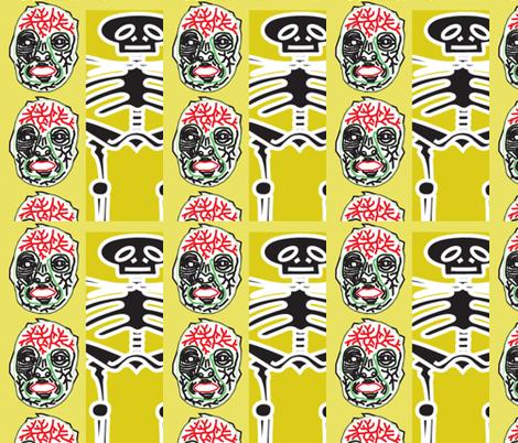 Creepy-crawlies fabric by isabella_asratyan on Spoonflower - custom fabric
