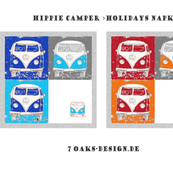 Hippie Camper Napkins