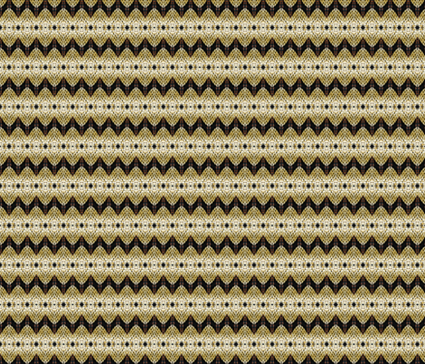 Hawaian Zig Zag fabric by walkwithmagistudio on Spoonflower - custom fabric