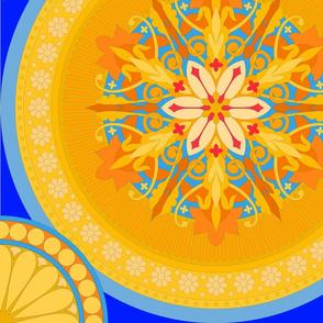 Art Nouveau Sun Halo