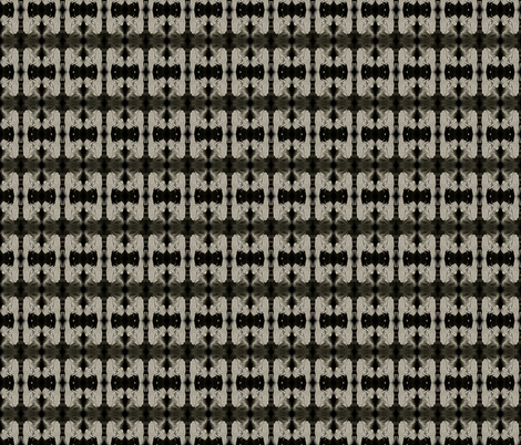 Talk to the Skull Bow Tie fabric by walkwithmagistudio on Spoonflower - custom fabric