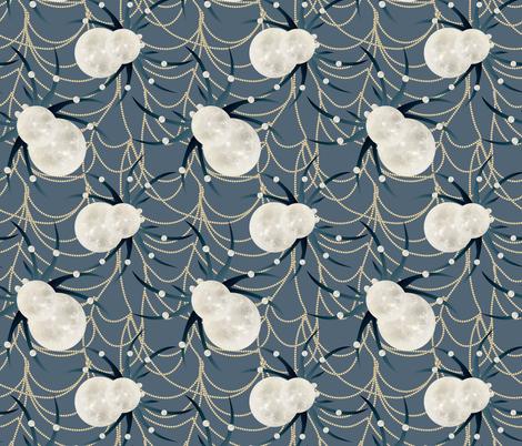 glamorous spiderweb fabric by kociara on Spoonflower - custom fabric