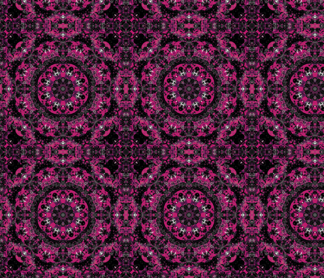 pinktile fabric by kociara on Spoonflower - custom fabric