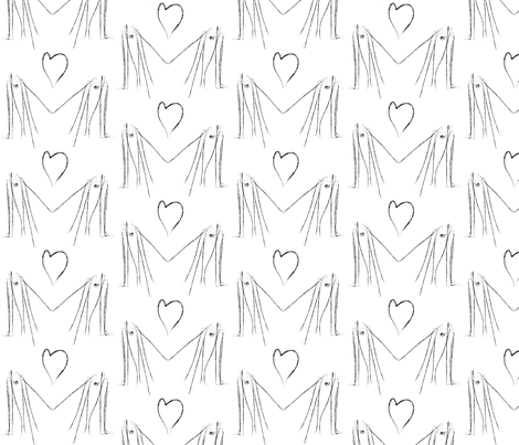 Spider Love fabric by garwooddesigns on Spoonflower - custom fabric