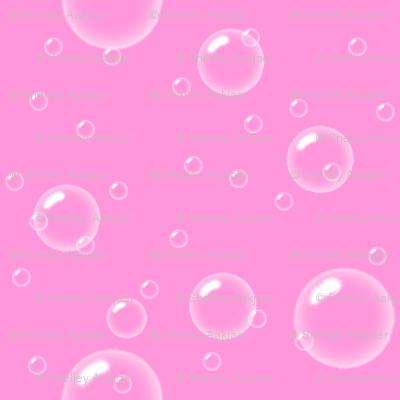 Bubbly Bubbles - Pink