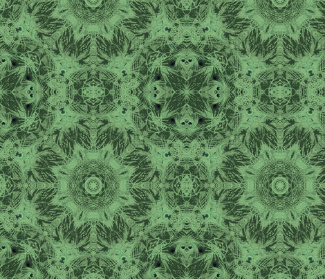 peacock kaleidoscope fabric by kociara on Spoonflower - custom fabric