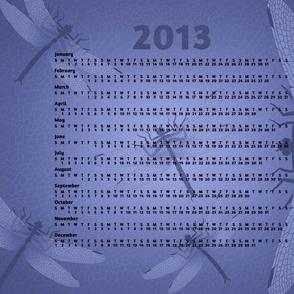 2013 Griffinfly Tea Towel Calendar