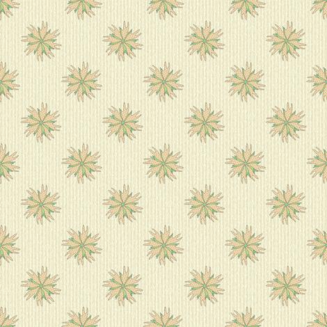 Armadillo Footprint Floral fabric by maplewooddesignstudio on Spoonflower - custom fabric