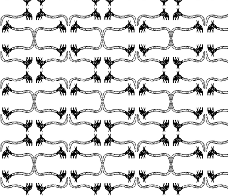 Creepy Crawlies No. 1 fabric by lisulle on Spoonflower - custom fabric