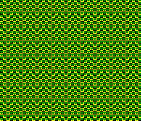 It's Easy Being Green in Eugene fabric by pd_frasure on Spoonflower - custom fabric
