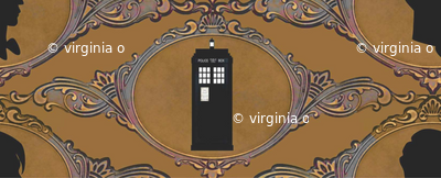Dr Who Cameo Golden Sienna