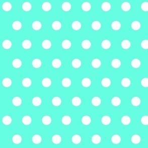 Polkadot Turquoise