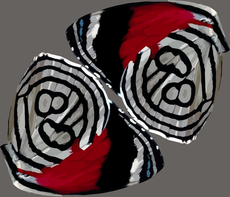 "Ochenta y Ocho  (""Eighty-Eight"")  Butterfly Wings fabric by bonnie_phantasm on Spoonflower - custom fabric"