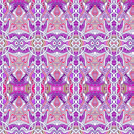 Purple Patches fabric by edsel2084 on Spoonflower - custom fabric