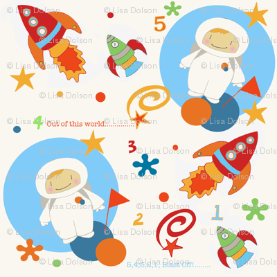 Spaceboy fabric bipbop spoonflower for Space boy fabric