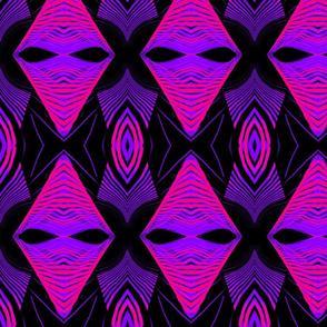 Bridge Pattern Purple