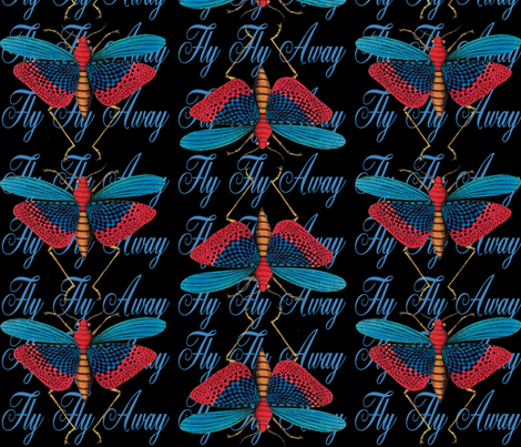 Fly_Away fabric by manneckart on Spoonflower - custom fabric