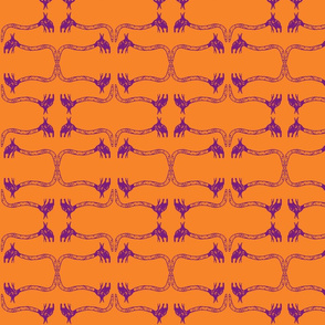 Creepy Crawlies No. 1 (Orange & Purple)