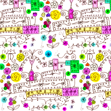Florist's Shop fabric by boris_thumbkin on Spoonflower - custom fabric