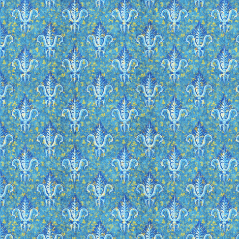 sparkly fleur de lis fabric by glimmericks on Spoonflower - custom fabric