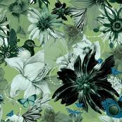 Flora Fauna Green