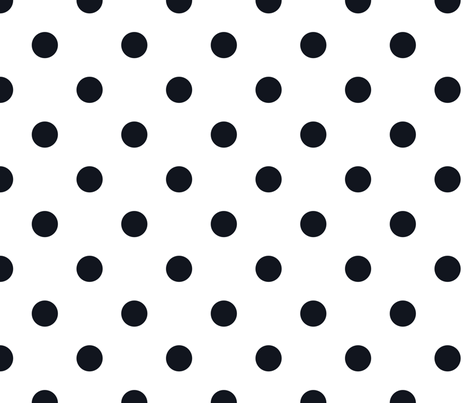 Polkas in frock fabric by domesticate on Spoonflower - custom fabric