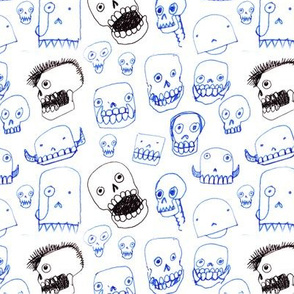 Silly Skulls