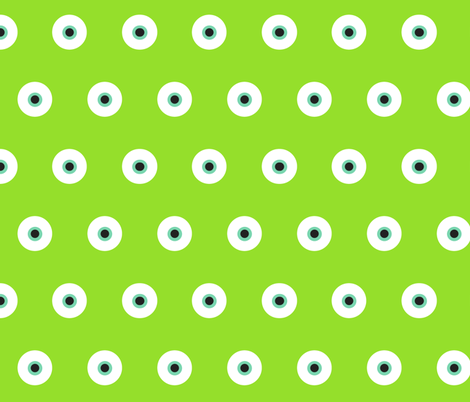 Eye see you fabric by oceanpien on Spoonflower - custom fabric
