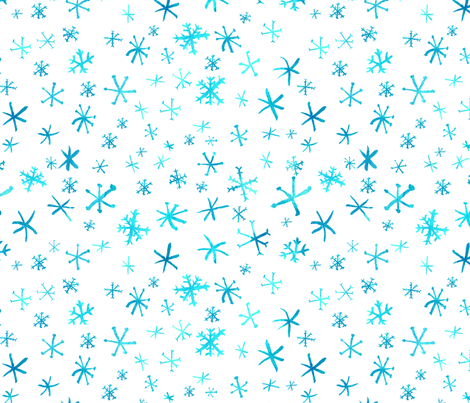 Winter fabric by airdesignstudio on Spoonflower - custom fabric