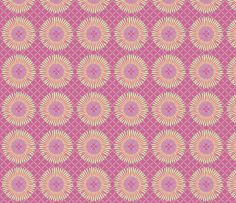 daisy_wheel4 fabric by glimmericks on Spoonflower - custom fabric