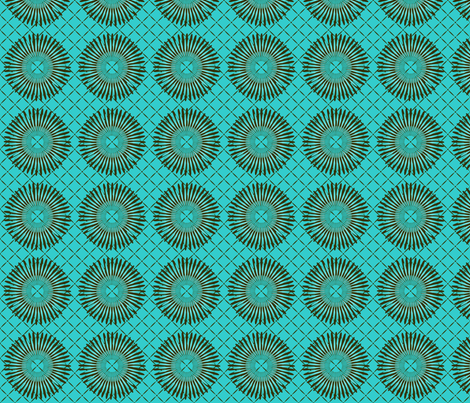 daisy_wheel2 fabric by glimmericks on Spoonflower - custom fabric