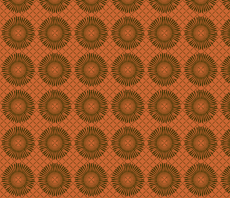 daisy_wheel fabric by glimmericks on Spoonflower - custom fabric