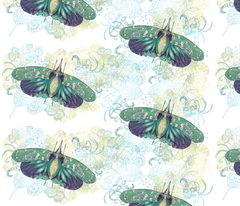 Hotinus Maculatus fabric by aftermyart on Spoonflower - custom fabric
